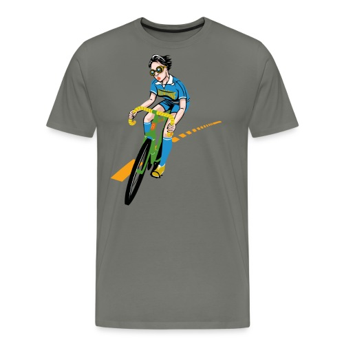The Bicycle Girl - Männer Premium T-Shirt