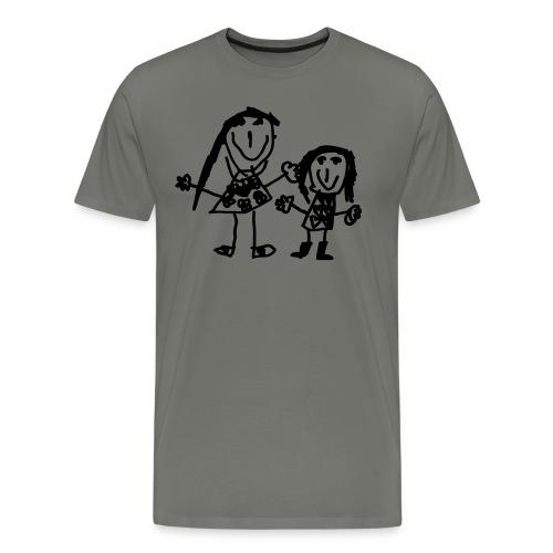maman et fille - Männer Premium T-Shirt