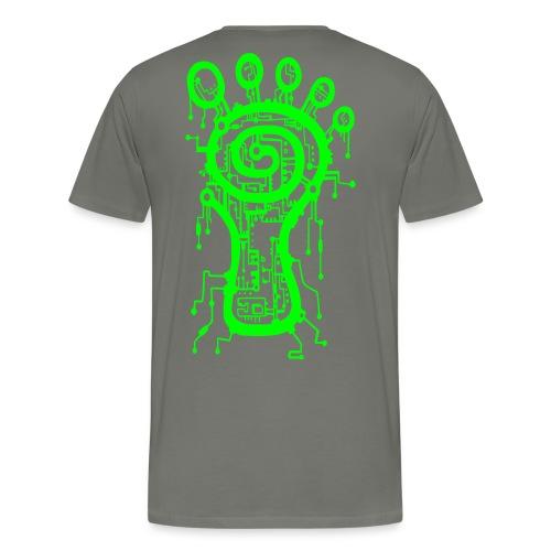 Parvati Records Matrix logo - Men's Premium T-Shirt