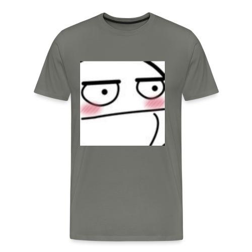 CptLvl blush jpg - Men's Premium T-Shirt