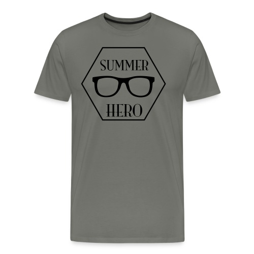 summer hero - Mannen Premium T-shirt