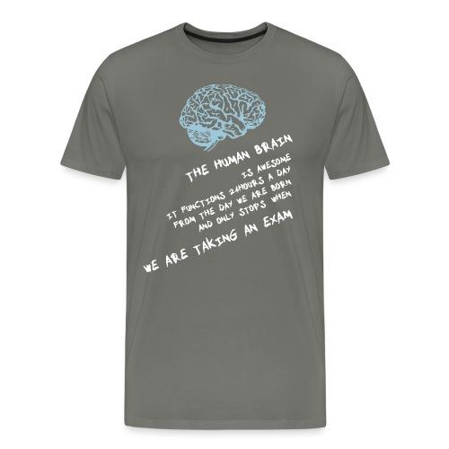 Human Brain - Maglietta Premium da uomo