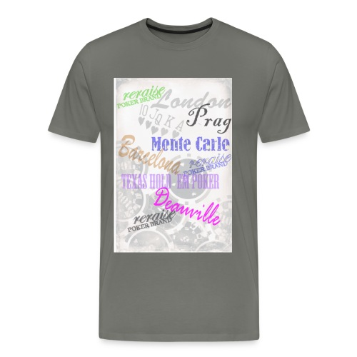 T-Shirt Städte - Männer Premium T-Shirt