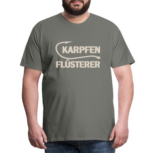Karpfen Flüsterer - Männer Premium T-Shirt