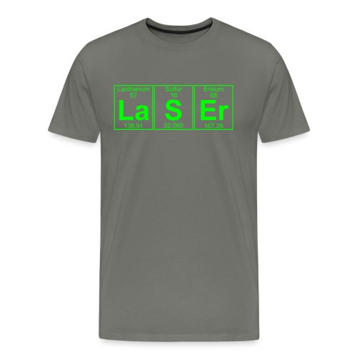 La-S-Er (laser) - Full - Men's Premium T-Shirt