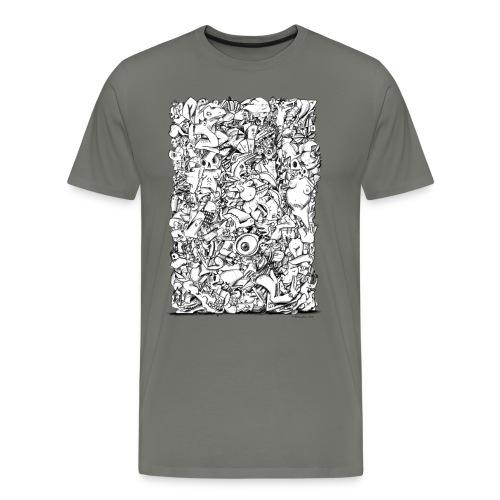 FRTZN Alphabet BLOCK - Männer Premium T-Shirt