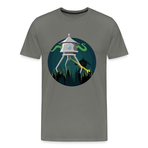 La guerra dei mondi - H. G. Wells - Maglietta Premium da uomo