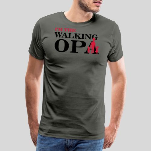 The Walking Opa 1 - Männer Premium T-Shirt