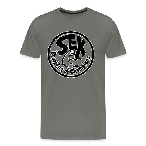 Breakfast of Champions - Mannen Premium T-shirt