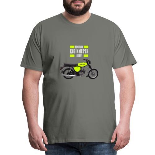 Moped Rapsgelb DDR - Männer Premium T-Shirt