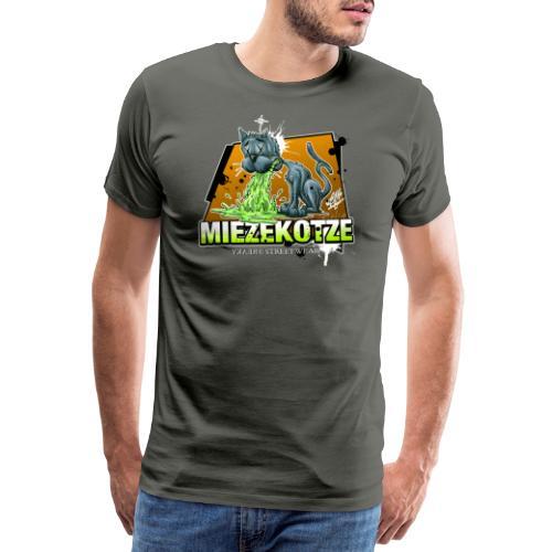 Miezekotze - Männer Premium T-Shirt