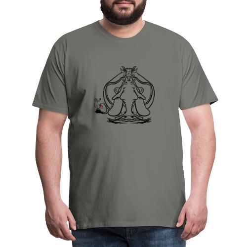 Lovelyfant - Premium-T-shirt herr