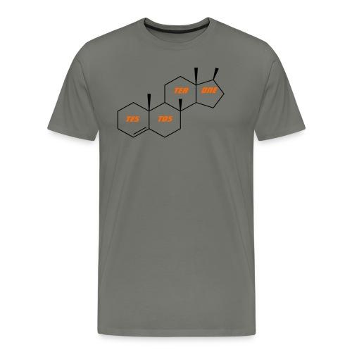 Testosterone T Shirt, Testosterone Hoodie, Gift, - Men's Premium T-Shirt