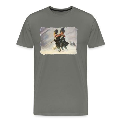 Schneesturm - Männer Premium T-Shirt