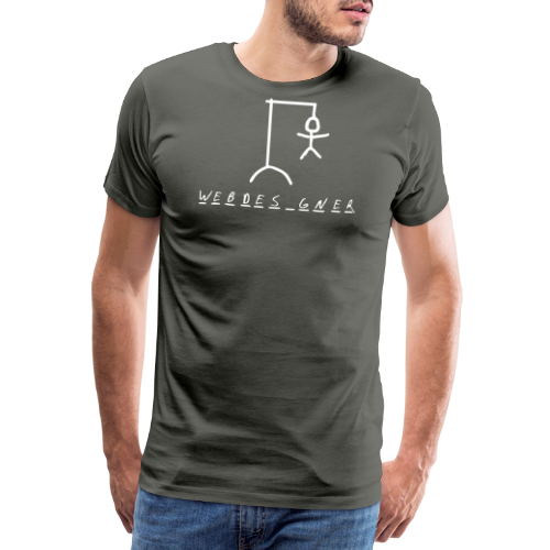 WEBDES GNER - Premium-T-shirt herr