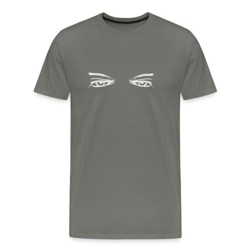 backside - Mannen Premium T-shirt