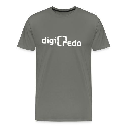 digiredo2 w - Mannen Premium T-shirt