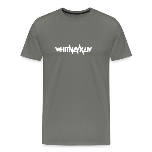 whitney xciv 4000x - Mannen Premium T-shirt
