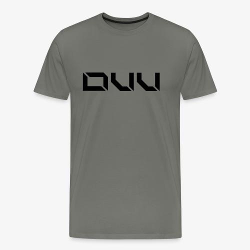 DUU Logo Vektor Schwarz - Männer Premium T-Shirt