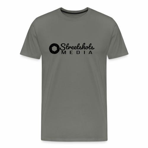 Streetshots Weißspread - Männer Premium T-Shirt