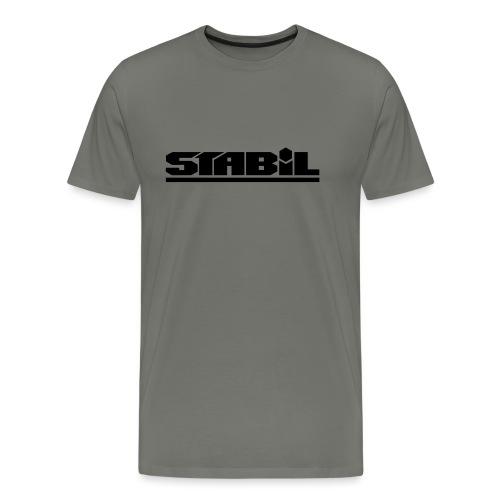 Stabilschrift - Männer Premium T-Shirt
