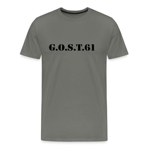 GOST nom - T-shirt Premium Homme