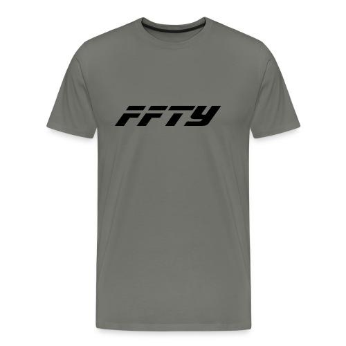 FFTY Schriftzug - Männer Premium T-Shirt