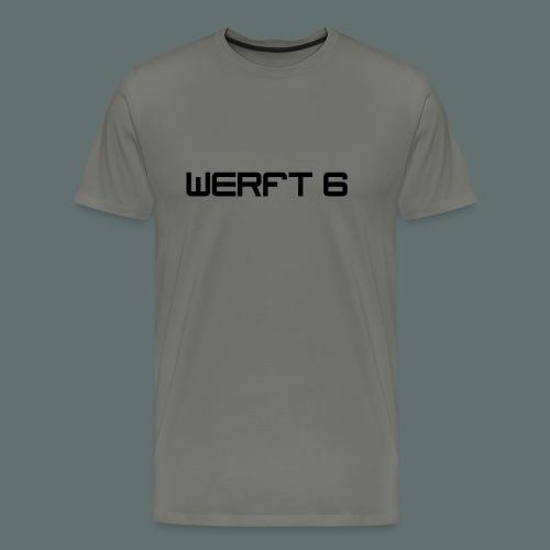 werft6 logo - Männer Premium T-Shirt