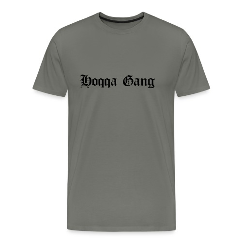 Schriftzug: Hoqqa Gang - Männer Premium T-Shirt