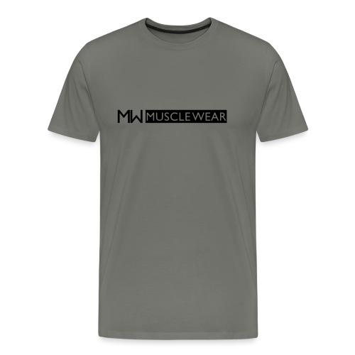 mw logo inline 2 - Premium-T-shirt herr