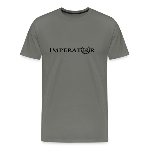 logo vektor lang schwarz - Männer Premium T-Shirt