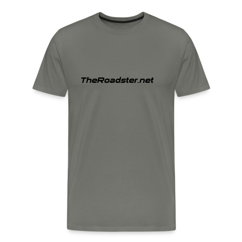 TheRoadster net Logo Text Only All Cols - Men's Premium T-Shirt