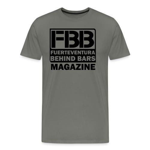 BLACK SIMPLE small logo - Men's Premium T-Shirt