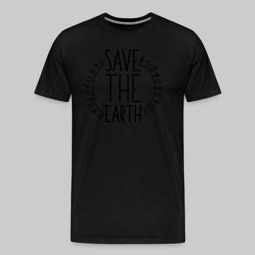 Safe the Earth - Männer Premium T-Shirt