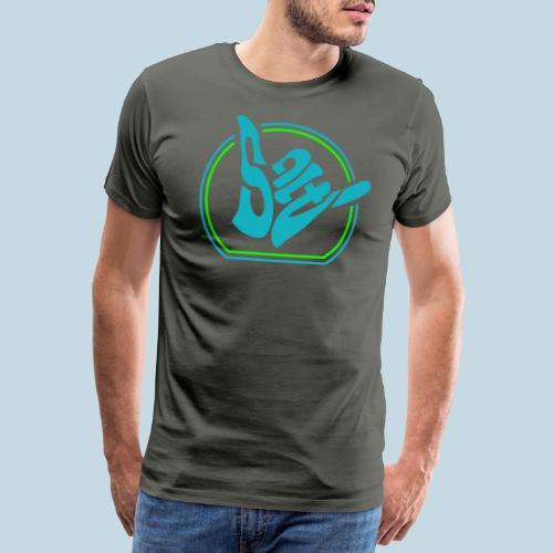 Handzeichen Shaka - Männer Premium T-Shirt