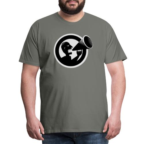 Der Schrei - Männer Premium T-Shirt