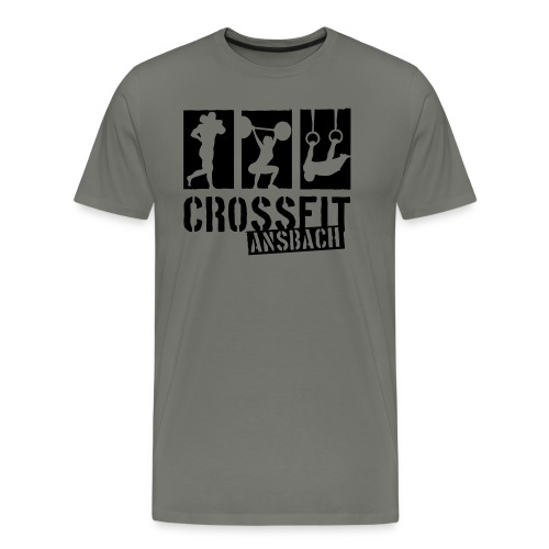 logo1f reduced - Männer Premium T-Shirt