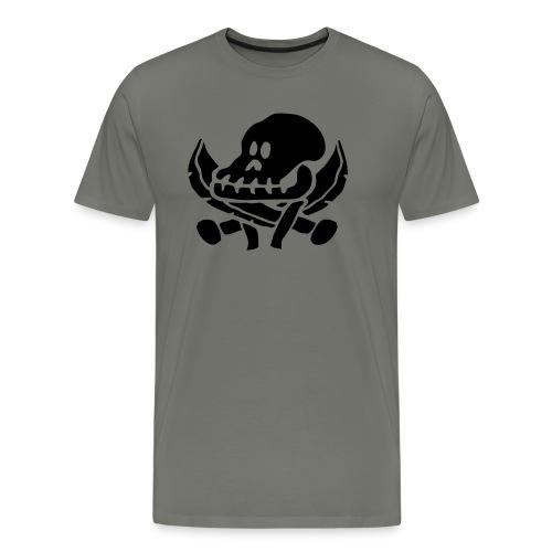 roverskalle - Premium T-skjorte for menn