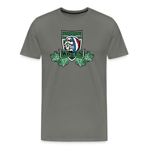T-shirt Green&White Wolfs Enfant - T-shirt Premium Homme