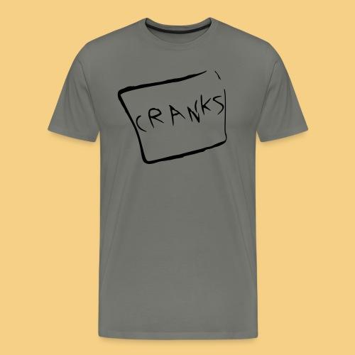 cranks super smooth - Men's Premium T-Shirt