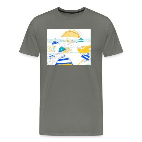 plage - T-shirt Premium Homme