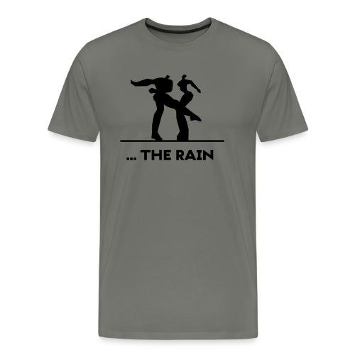 logo schwarzweiss the rain - Männer Premium T-Shirt