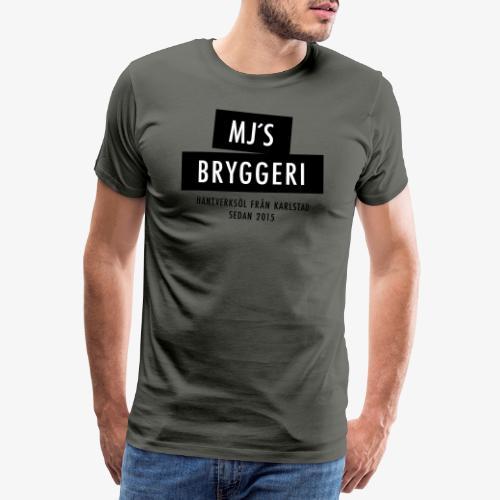MJs logga - Premium-T-shirt herr