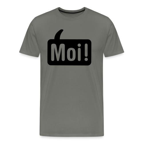 hoi shirt front - Mannen Premium T-shirt