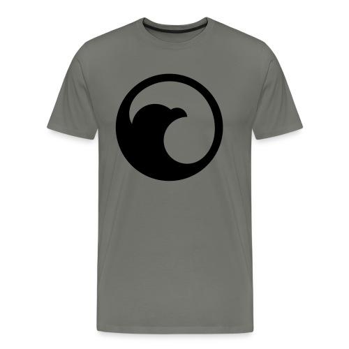 VG Circle Logo Black vect - Men's Premium T-Shirt