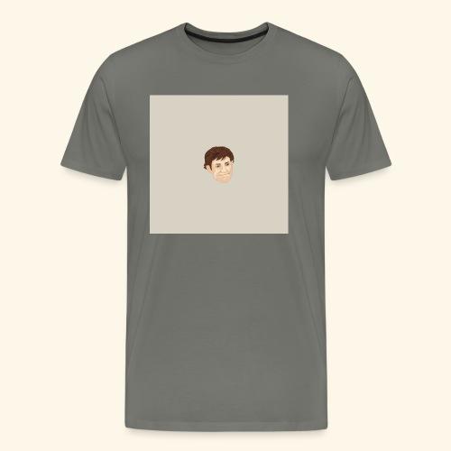 Facciona-con-lo-sfondo - Maglietta Premium da uomo