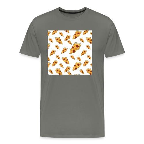 PizzaPattern png - Men's Premium T-Shirt