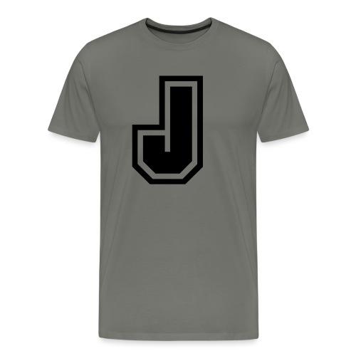 J black png - T-shirt Premium Homme