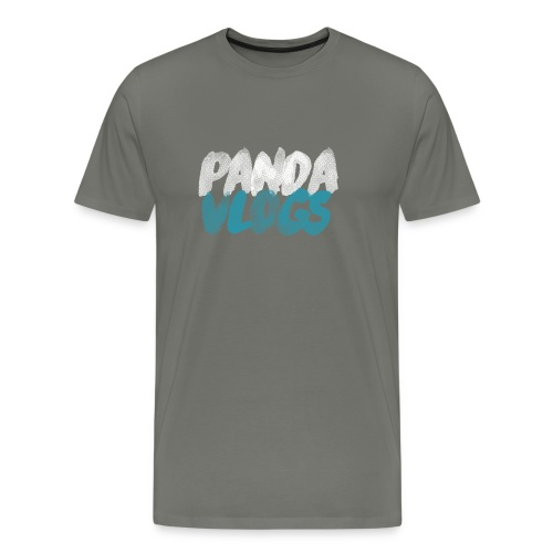 PandaVlogs 2 - Men's Premium T-Shirt
