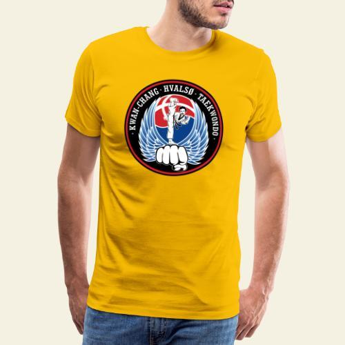 hvalsoetkd logo - Herre premium T-shirt